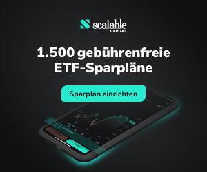 1500 kostenlose ETF-Sparpläne - Sparplan einrichten.